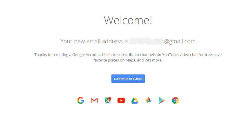 gmail final create