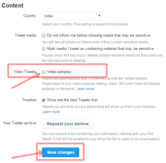 Twitter Par Auto Play Video Kaise Band Kare2