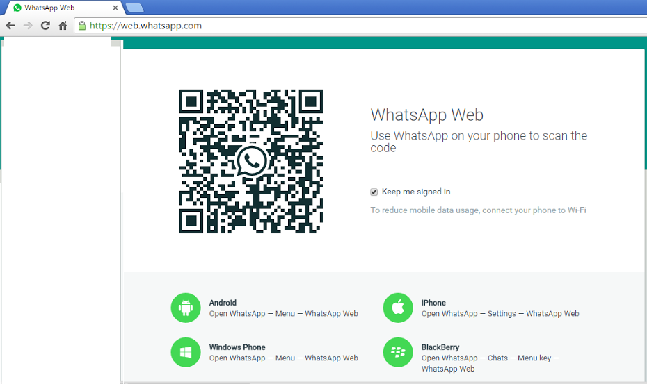 web whatsapp