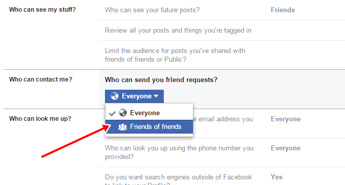 Facebook Par Add Friend Button Ko Hide Kaise Kare 3
