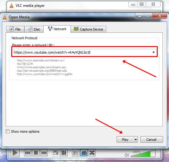 VLC media player Me Youtube Ke Video Ko Kaise Dekhe 2
