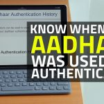How to check Aadhaar Card History