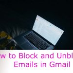 Block and Unblock Gmail