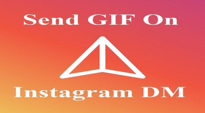 Instagram me gif kaise send kare