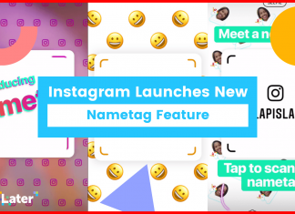 Instagram Nametag feature in hindi