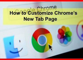 Chrome ke New Tab Background ko Customize kaise kare