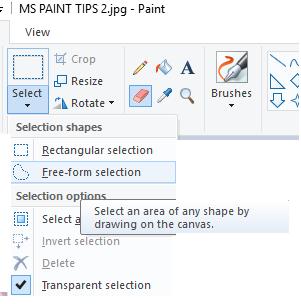 MS Paint tricks