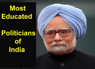 most educated politicians of india in hindi