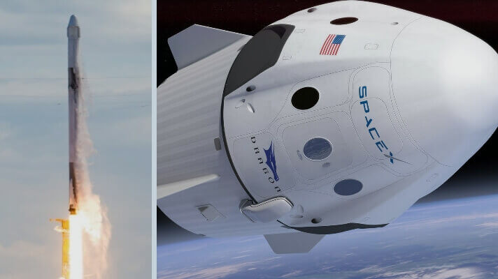 spacex space travel