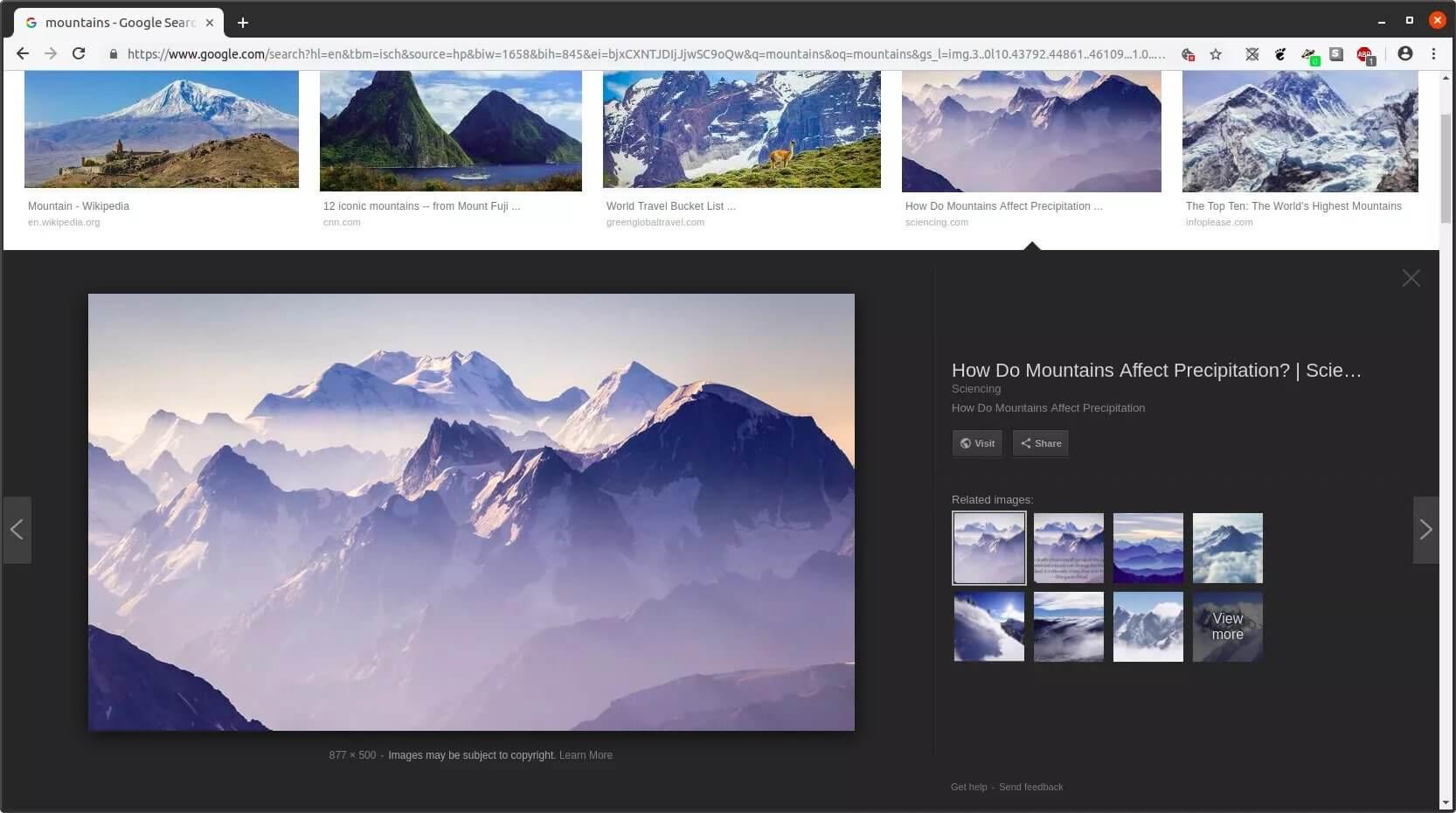 google image kya hai